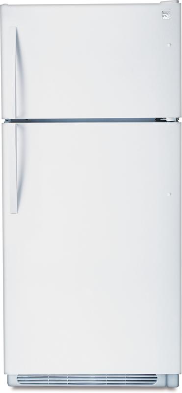 kenmore 02273433. kenmore 18.0-cu. ft. top freezer refrigerator 02273433