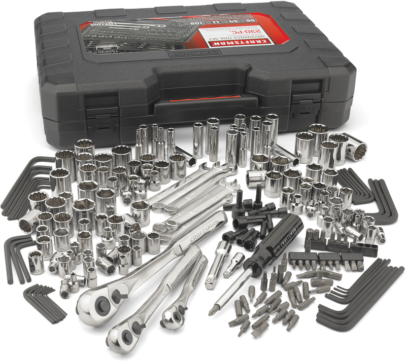 kenmore 02273433. craftsman 230-pc. mechanic\u0027s tool set kenmore 02273433