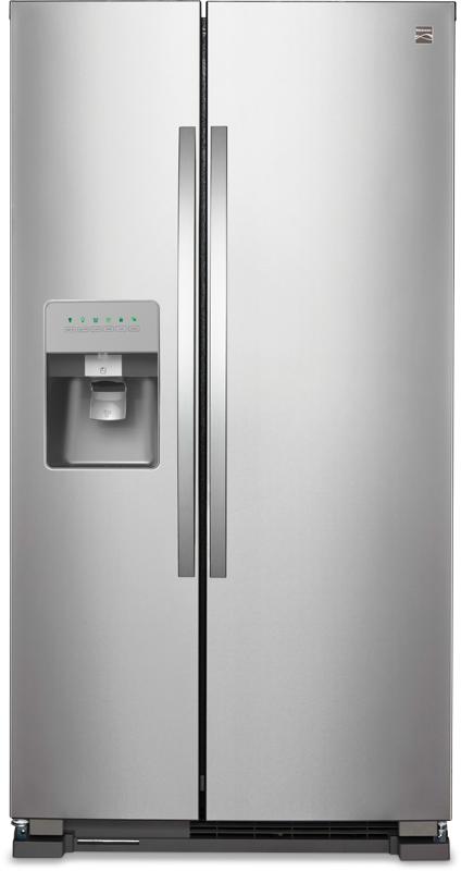 kenmore 02273433. kenmore 24.6-cu. ft. side-by-side refrigerator 02273433 r