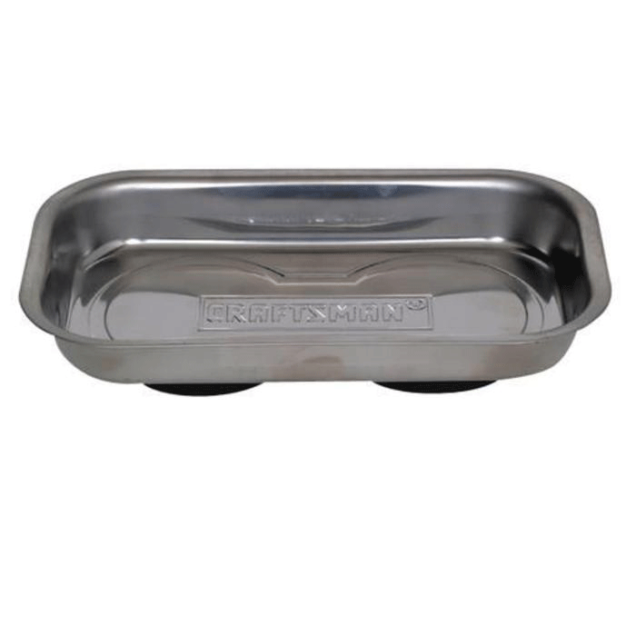 Magnetic steel tray